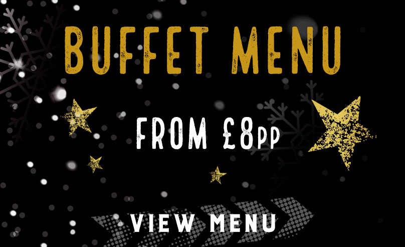 Festive buffet menu at The George Eliot